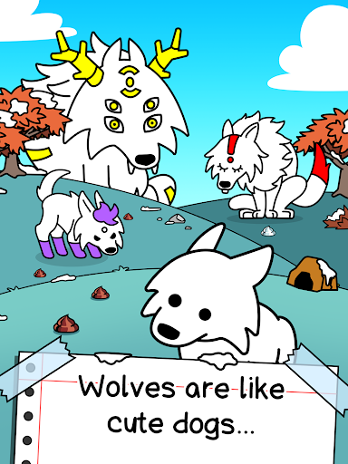 Wolf Evolution - Merge and Create Mutant Wild Dogs 1.0.1 screenshots 5