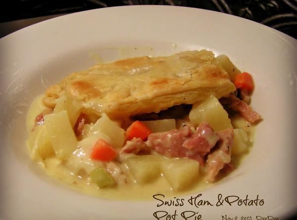 Dee Dee's Swiss Ham & Potato Pot Pie Recipe