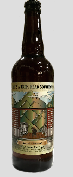 Logo of Southbound Secrets Shared Wild IPA