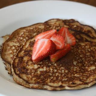 Whole Wheat Oatmeal Pancakes