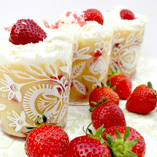 Easy Strawberry and Coconut Trifle