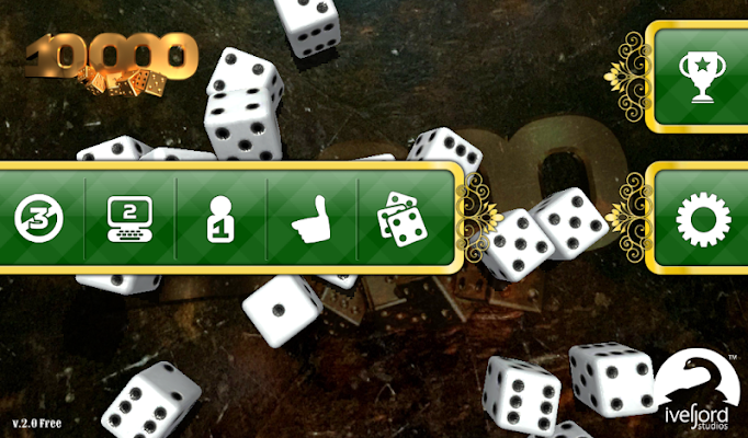 Dice 10000 3D Free Version - screenshot