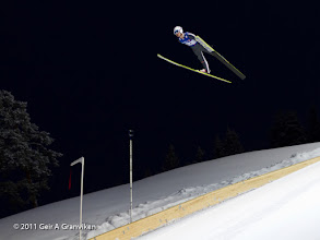 Photo: Ski flying Vikersund HS225 - Test jumping in the new hill before the World Cup event (Joachim Hauer)