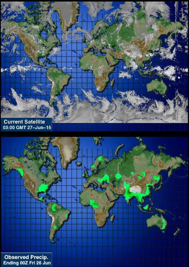 World Wide Weather Android Apps On Google Play - Current satellite image of world