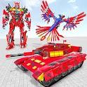 Tank Robot Game 2020 - Eagle Robot Car Games 3D icon