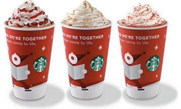 2010 cup - Starbuck Christmas Cups