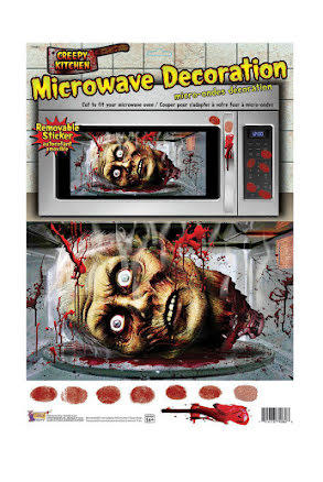 Stickers till mikrovågsugn