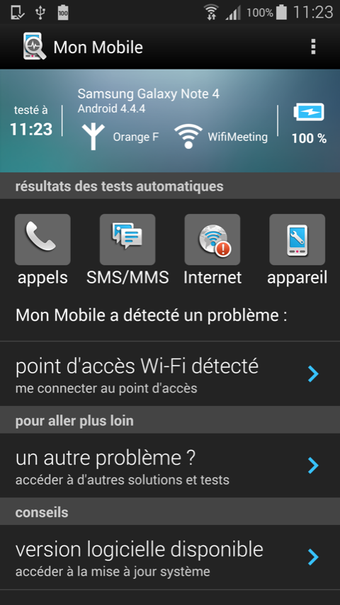 Mon Mobile- screenshot