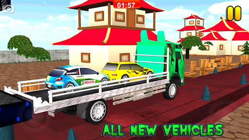 Multi Truck Euro Car Transporter Game 2018 Free 1.0 screenshots 8