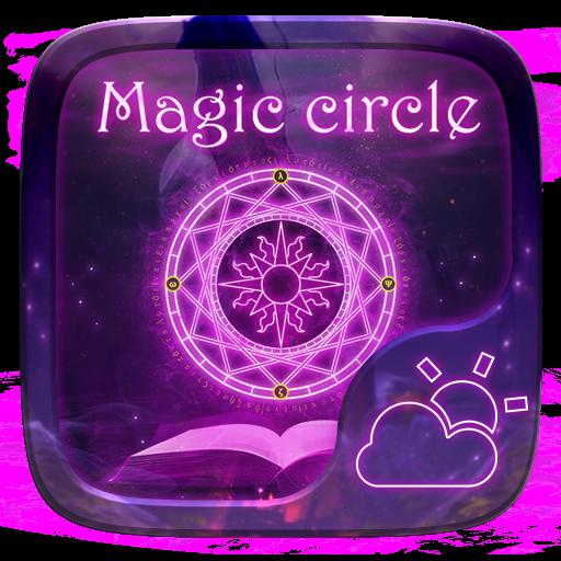 Magic Circle GO Weather Widget