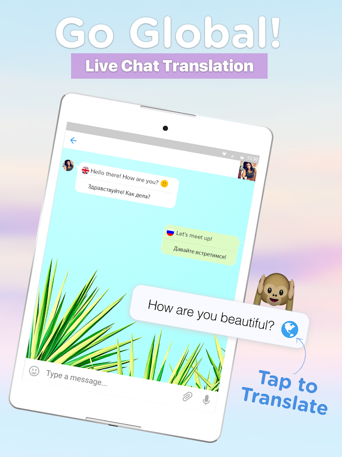 Fuzd Chat,Meet,Global Friends!- screenshot