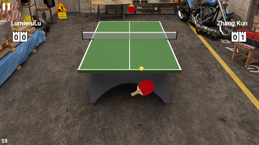 Virtual Table Tennis screenshots 1
