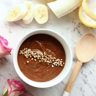 Rich chocolate pudding | Vegan, Healthy.
