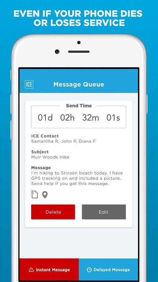 ICE Contact - FREE Safety App- screenshot