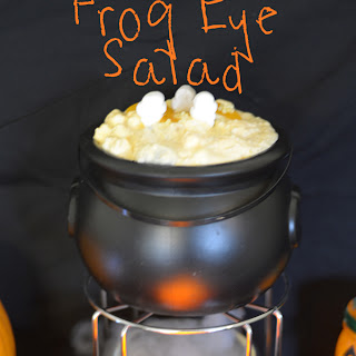 Halloween Frog Eye Salad