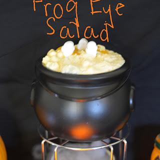 Halloween Frog Eye Salad.