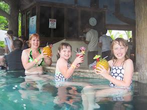 Photo: Swim up bar in the hot tub. Brilliant!