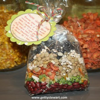 Vegetable Soup Mix In A Jar Recipes.