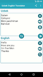 Uzbek English Translator for PC-Windows 7,8,10 and Mac apk screenshot 3