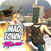 Mad Town Miami Sandboxed Style Open World 2018 Android APK Download Free By Wild West Games