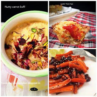 Carrot Cheese Platter