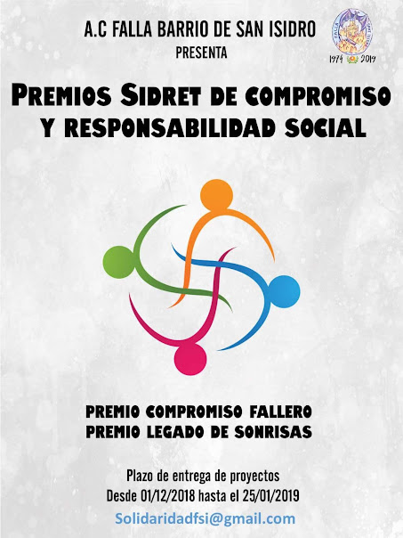 La Falla San Isidro ha creado los premios Sidret