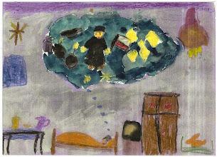 Photo: Praca konkursowa, 2001 r. Ela, lat 10. Wyróżnienie w kat. wiek. klas 1 - 3.