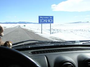 Photo: Entering Idaho
