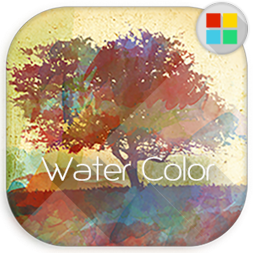 Water Color Theme for Xperia™