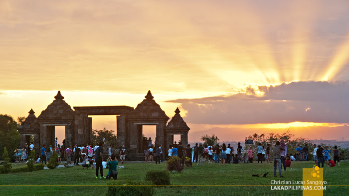 Ratu Boko Sunset Indonesia