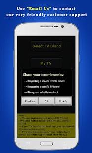 Universal TV Remote Control- screenshot thumbnail