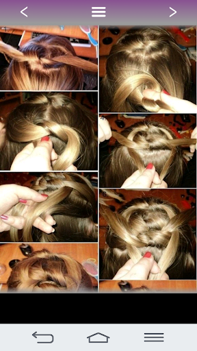 Hairstyles for girls 2018 Screenshot