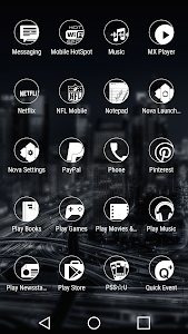 Simp Dark White - Icon Pack screenshot 5