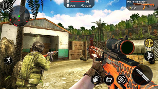 Encounter Strike:Real Commando Secret Mission 2020 apklade screenshots 2