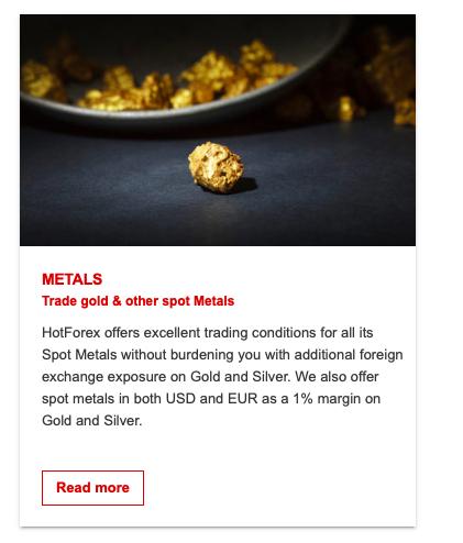 hotforex metals