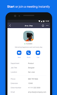 ZOOM Cloud Meetings Apk – For Android 1