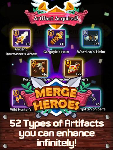 Merge Heroes Frontier: Casual RPG Online screenshots apkshin 11