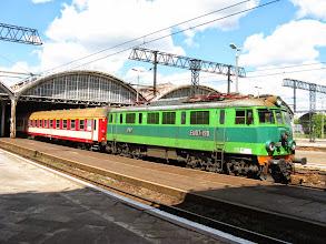 Photo: Wrocław Główny: EU07-190 ze Światowidem w relacji Szczecin - Przemyśl
