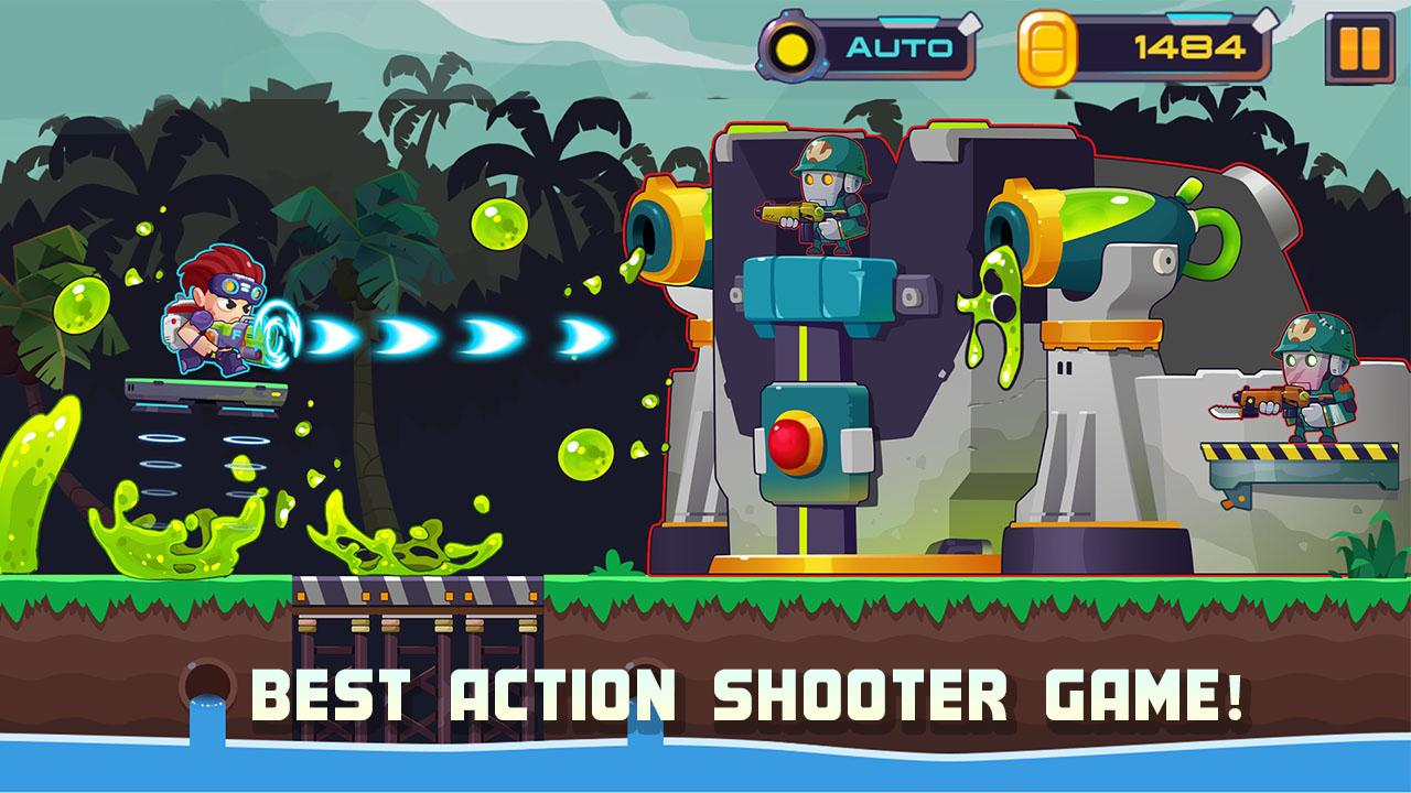 Metal Shooter: Run and Gun- screenshot