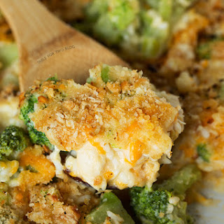 Broccoli, Rice, and Chicken Casserole Recipe