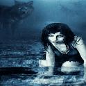 Fantasy Wolf Girl LWP icon