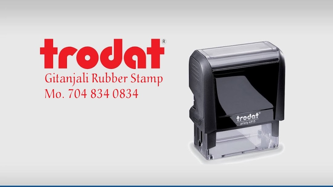 Gitanjali Rubber Stamp Rubber Stamp Shop In Subhanpura