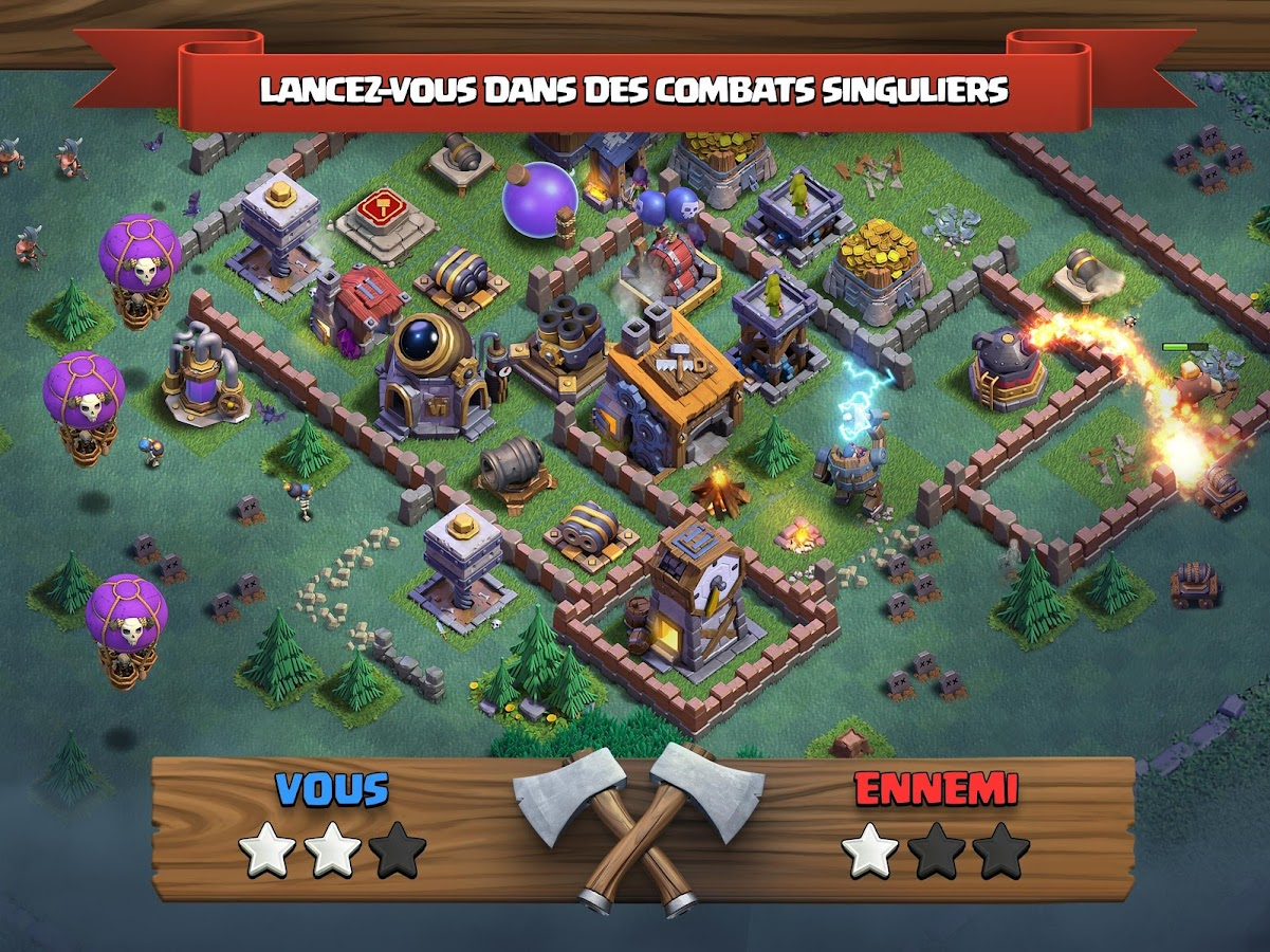Clash of Clans – Capture d'écran