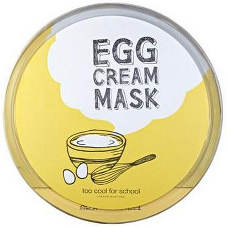 Egg Cream Mask Egg Cream Mask x 2pcs Too