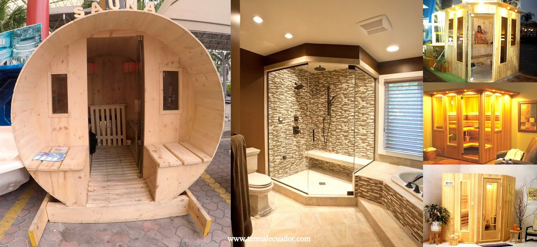 Termal Ecuador Diseño Construccion de Vapor Sauna Baño Turco 5