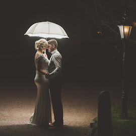 night sky by Paul Duane - Wedding Bride & Groom