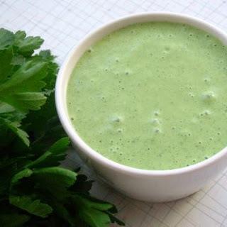 Green Goddess Salad Dressing .