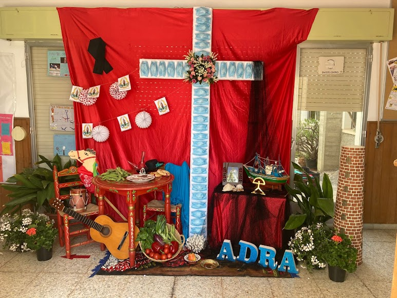 La cruz del AMPA 'El Poli' del CEIP San Fernando se ha llevado el segundo premio.