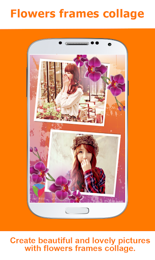 Flowers Photo Frames Collage