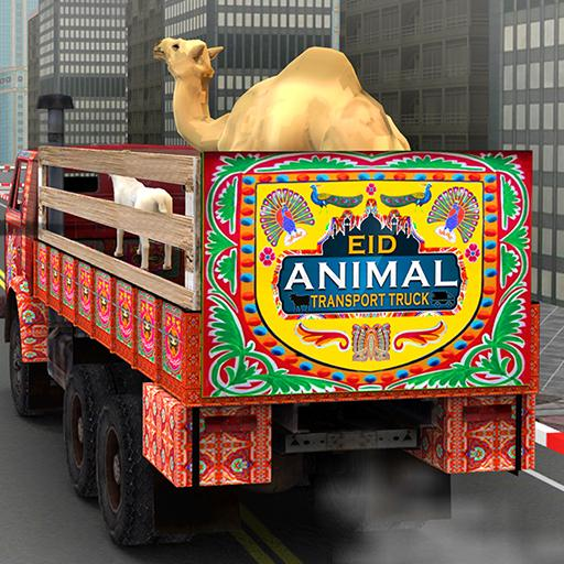 Eid Animal Transport Truck - Transporter Games